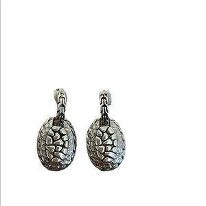 Vintage 926 sterling oval earrings